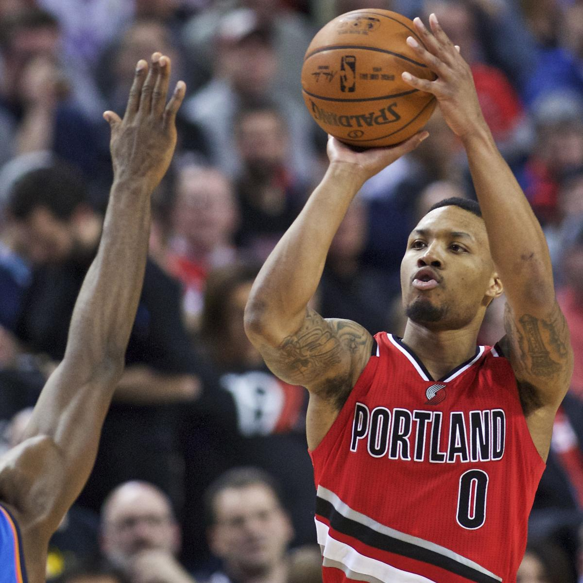 Damian Lillard: Damian Lillard Vs. Thunder: Stats, Highlights And Twitter