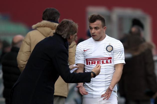 Roberto Mancini Sent Injured Xherdan Shaqiri to Be 'Manipulated by an Old Man'
