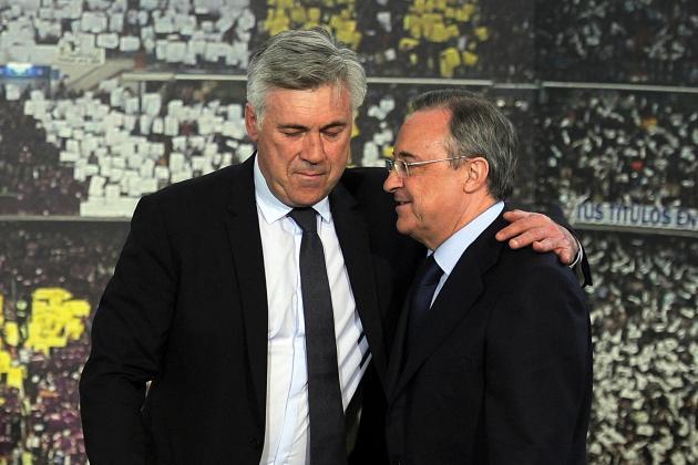 Carlo Ancelotti Criticises Florentino Perez over Firing of Rafa Benitez