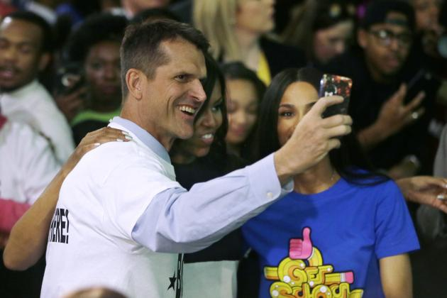Michigan's Jim Harbaugh Once Again Prepared to Dominate Offseason