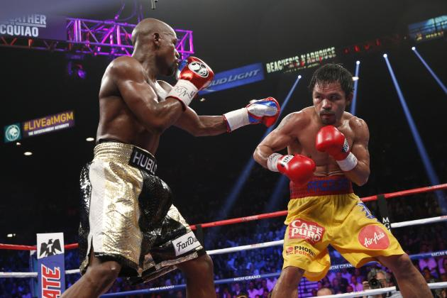 Floyd Mayweather 'Shocked' by Manny Pacquiao's Payout, Says Alex Ariza