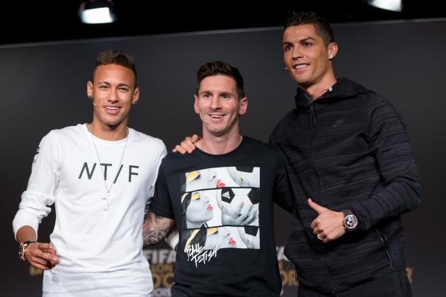 Lionel Messi, Neymar, Cristiano Ronaldo Key 2015 Ballon d'Or Presser Comments