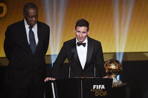 Ballon D'Or 2015: Top Comments from Lionel Messi's Victory Speech