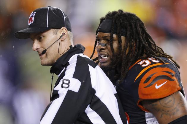 Vontaze Burfict Got What He Deserves with 3-Game Suspension