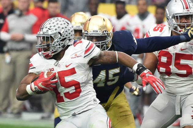 2016 NFL Draft: Ezekiel Elliott Offers Rare Skill Set and Top-10 Value