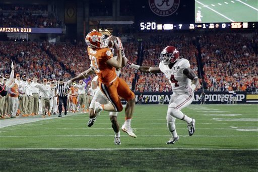 Hunter Renfrow vs. Alabama: Stats, Highlights and Twitter Reaction