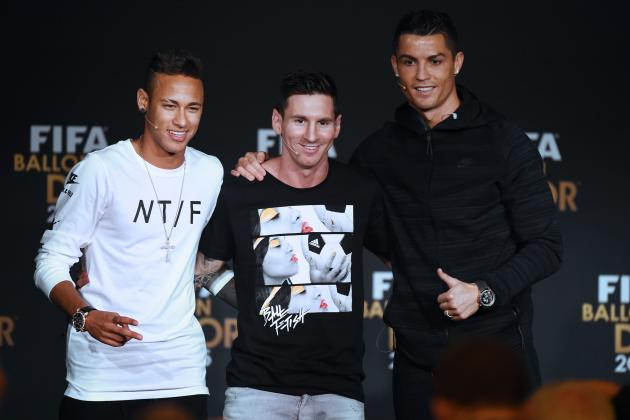 Neymar, Dani Alves Upset Cristiano Ronaldo Beat Brazilian in 2015 Ballon d'Or