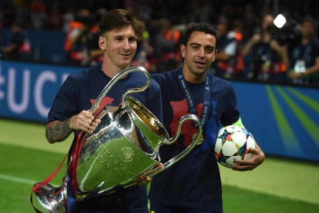 Lionel Messi Will Never Be Equalled, Says Xavi After 2015 Ballon D'Or Award