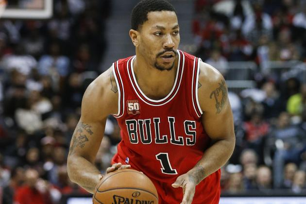 Derrick Rose Comments on Retiring with Bulls, His Son and More
