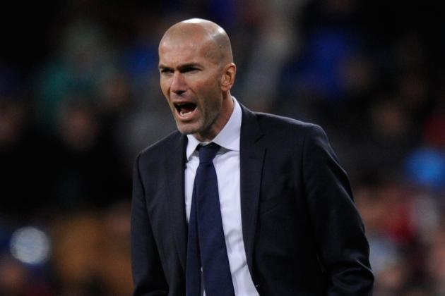 Zinedine Zidane Reportedly Shocked by Real Madrid Fitness After Rafa Benitez Era