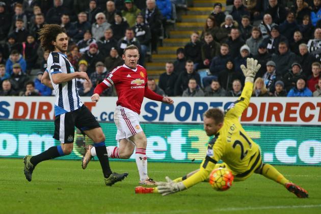 Newcastle United vs. Manchester United: Premier League Live Score, Highlights