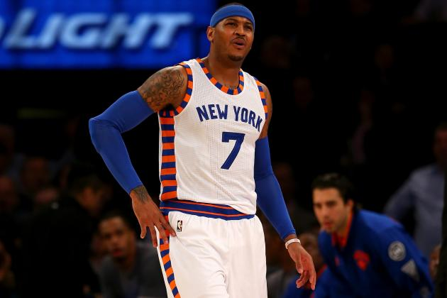 Carmelo Anthony Injury: Updates on Knicks Star's Knee and Return