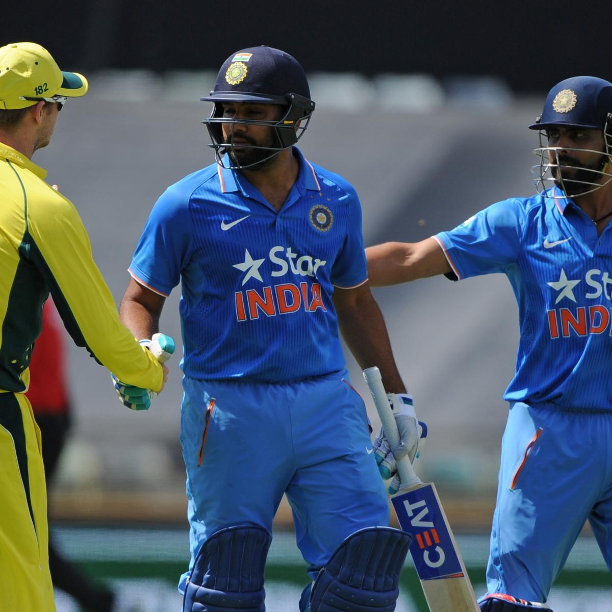 Australia Vs. India, 2nd ODI: Date, Time, Live Stream, TV