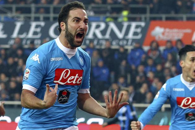 Chelsea Transfer News: Gonzalo Higuain, Diego Simeone Plan Reported, Top Rumours