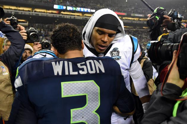 Russell Wilson Says He Would Vote for Cam Newton for NFL MVP
