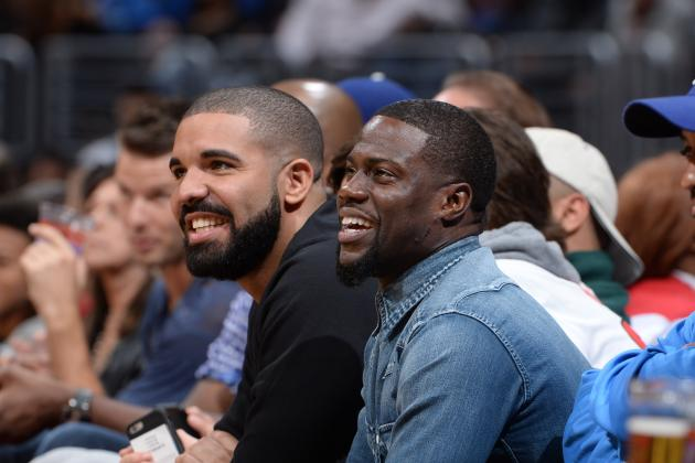 Drake, Kevin Hart to Coach Teams at 2016 NBA All-Star Celebrity Game