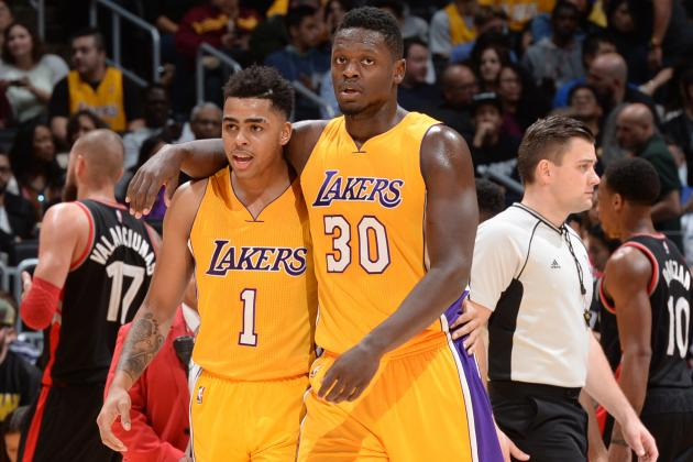 Lost in Kobe's Shadow, Russell, Randle Offer Lakers Vision of Bright Future