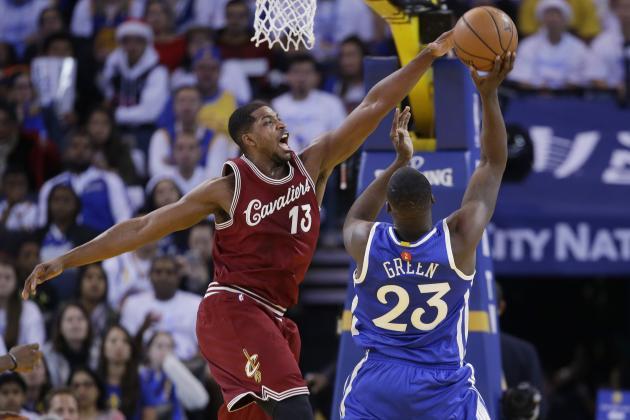 Tristan Thompson Is the Spark That Cleveland Cavaliers' Starting Lineup Needs