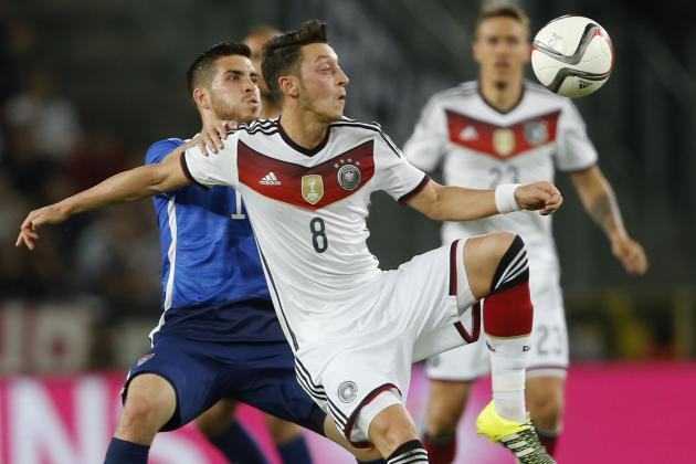 Mesut Ozil Voted Germany's Player of the Year 2015 Ahead of Thomas Muller