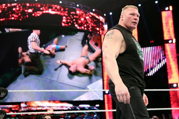 Brock Lesnar Thriving As Shades Of Grey Character Heading