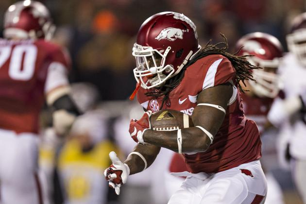 Arkansas RB Alex Collins Has All the Makings of a 1st-Round Pick