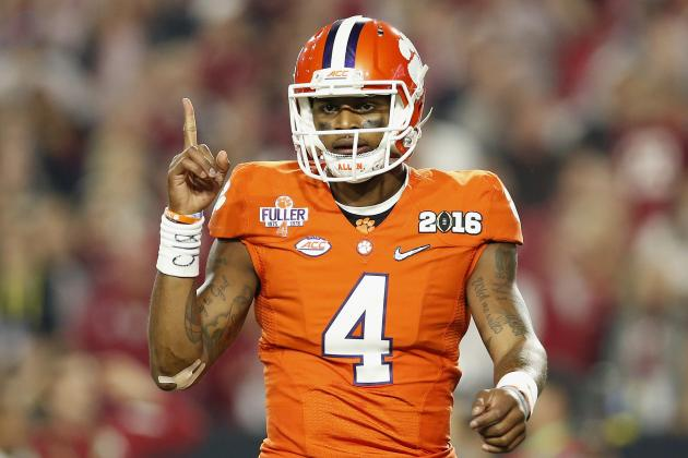 Deshaun Watson's Goal Is to Make Clemson's Offense the 'Best Ever'