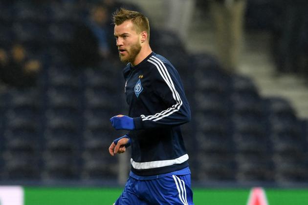 Arsenal Transfer News: Andriy Yarmolenko Talks Reported, Latest Gunners Rumours