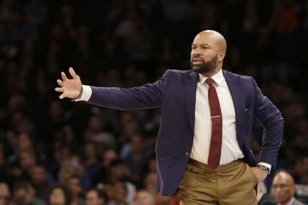 Derek Fisher Showing Much-Needed Growth in 2nd Season as NY Knicks Head Coach
