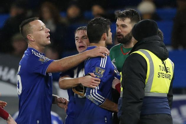 Chelsea, West Brom Charged with Misconduct After Premier League Match