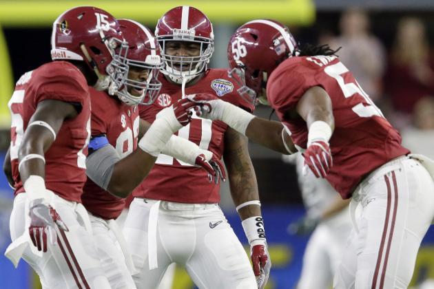 Breaking Down Alabama's Depth Chart Following NFL Draft Departures
