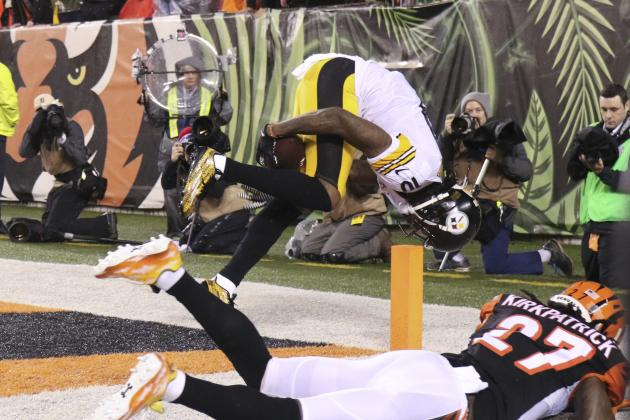 Dean Blandino Comments on Martavis Bryant's TD Catch vs. Bengals