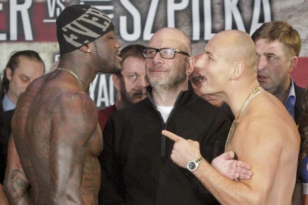 Deontay Wilder vs. Artur Szpilka: Live Round-by-Round Results and Highlights