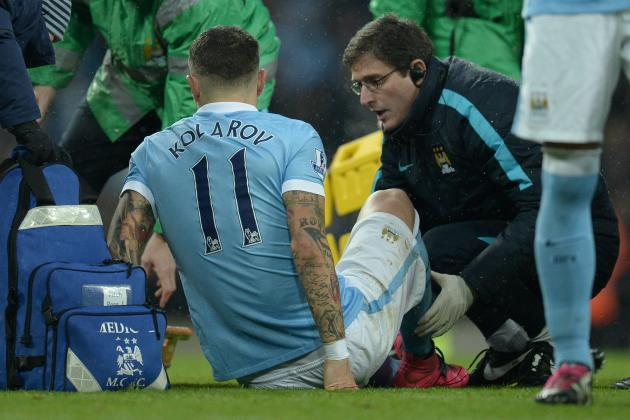 Aleksandar Kolarov Injury: Updates on Manchester City Defender's Status, Return