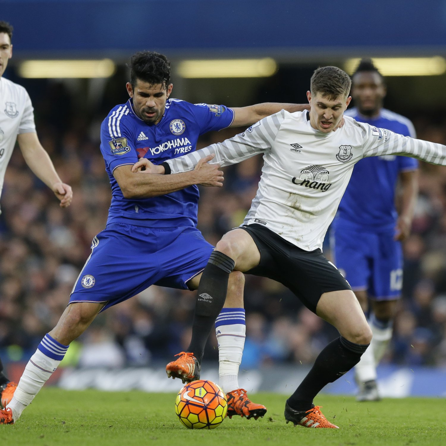 Chelsea Vs Tottenham Score Reaction From 2016 Premier: Chelsea Vs. Everton: Score, Reaction From 2016 Premier
