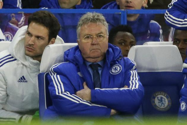 Guus Hiddink Comments on John Terry Goal, More After Chelsea Draw with Everton