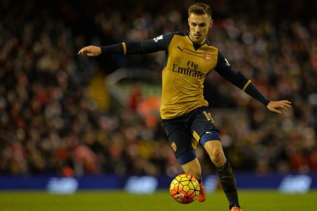 Aaron Ramsey Transfer Rumours: Latest News, Speculation on Arsenal Star
