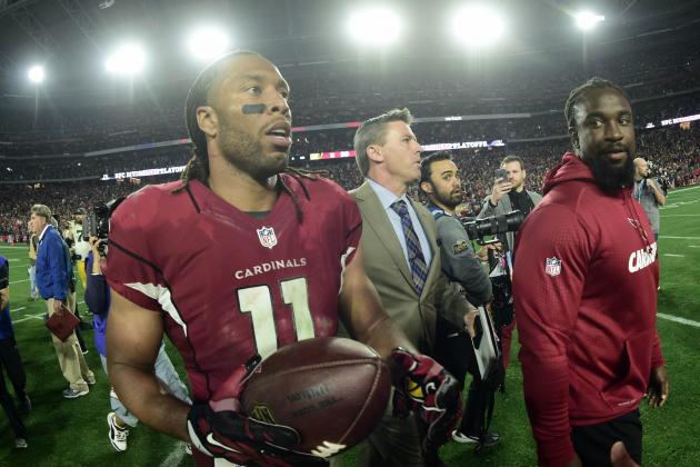 Larry Fitzgerald Gives Shoutout to Chris Mortensen After Win over Packers