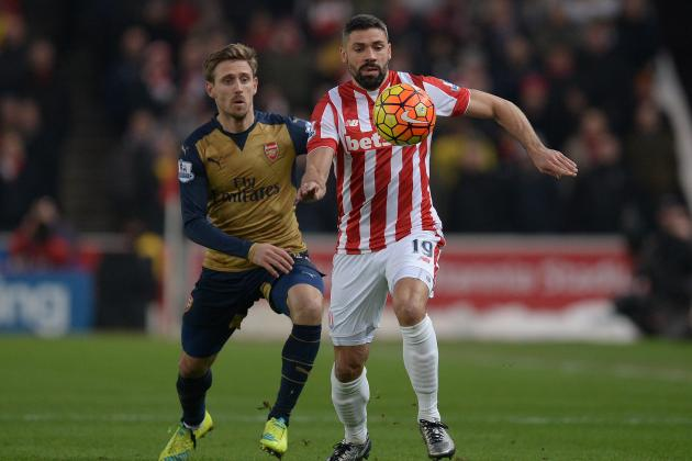 Stoke City vs. Arsenal: Live Score, Highlights from Premier League