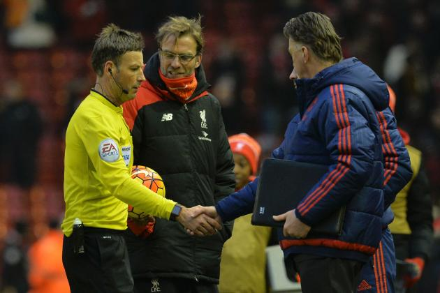 Liverpool V Manchester United: Jurgen Klopp, Louis Van Gaal Post-Match Reaction