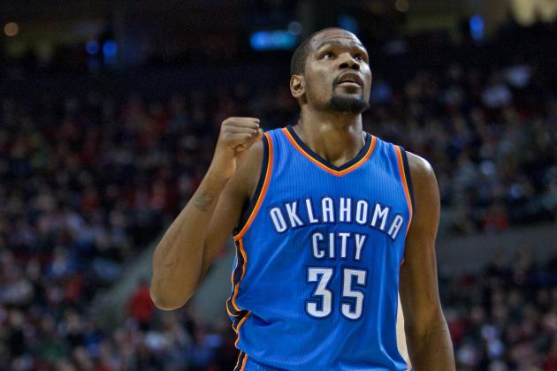 Kevin Durant Comments on Relationship with Media