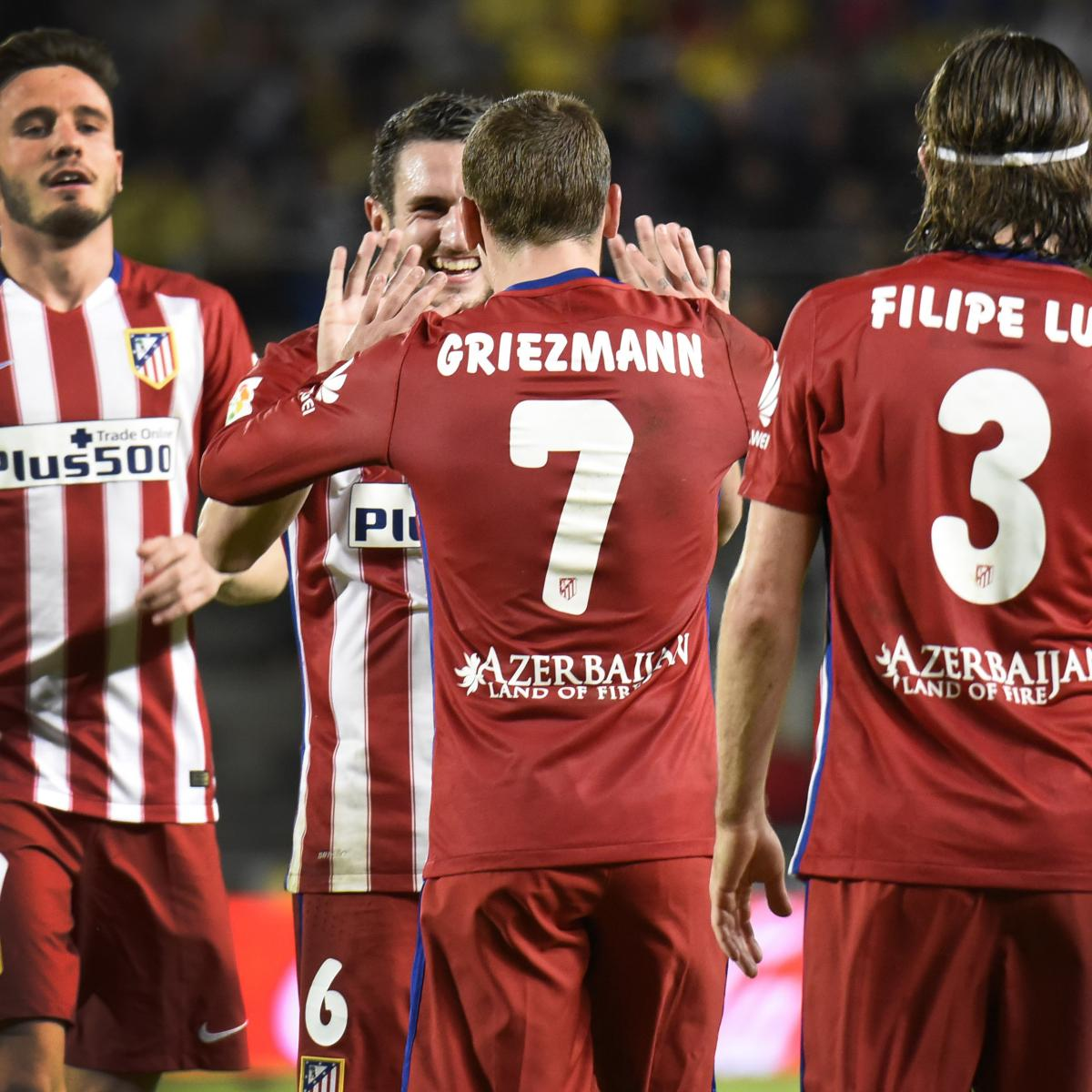 La liga results 2016 scores and updated table after - La liga latest results and table ...