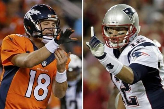 Manning-Brady Rivalry Reborn as Broncos Face 1st Real Test of Playoffs