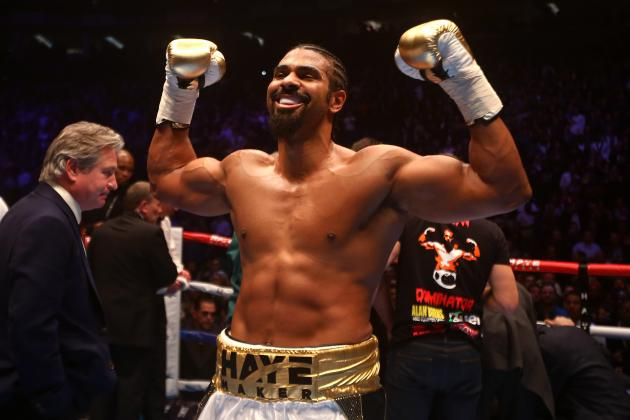 Anthony Joshua vs. David Haye Fight Discussed by Promoter Eddie Hearn
