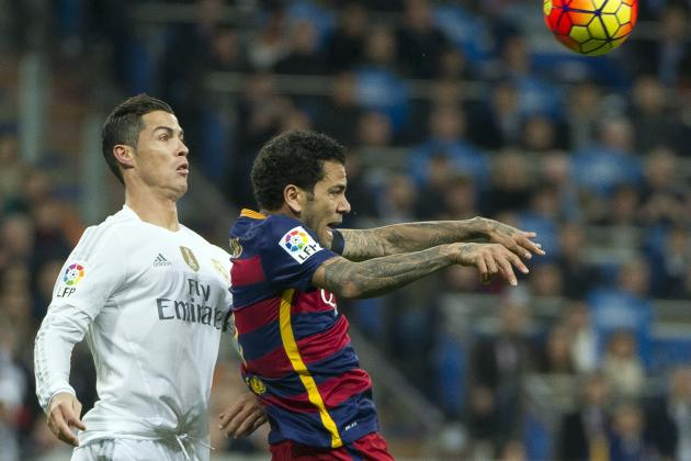 Dani Alves Tweets Barcelona Trophies After Cristiano Ronaldo Newspaper Jibe