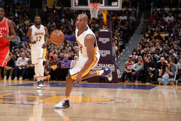 Bryant Moves into 2nd Place on Lakers' All-Time Assists List