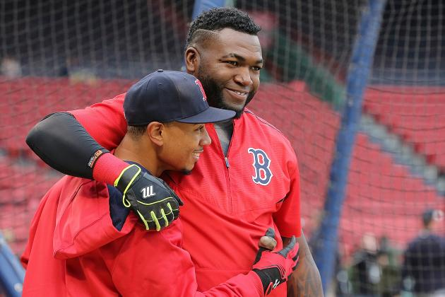 Mookie Betts Will Take Torch from David Ortiz as Red Sox's Franchise Player
