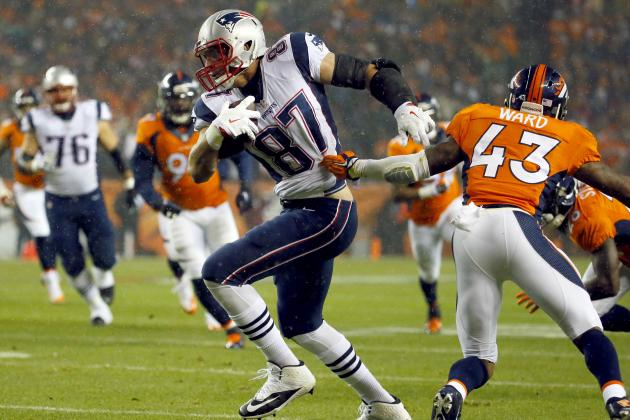 Broncos' Brandon Marshall Comments on Matchup vs. Rob Gronkowski