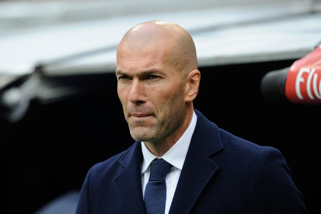 Zinedine Zidane Reportedly Angered by James Rodriguez During Sporting Gijon Game
