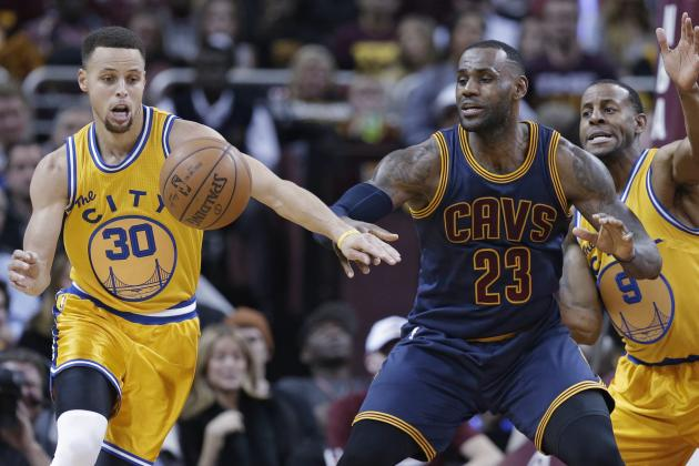 Humbled by the Warriors Yet Again, LeBron James on Verge of Becoming Irrelevant