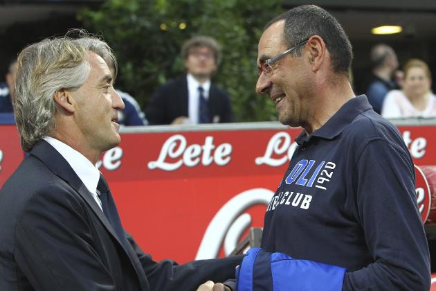Roberto Mancini Claims Napoli Manager Maurizio Sarri Used Offensive Slurs